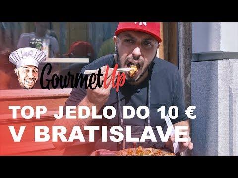 Najlepšie jedlo za 10 eur v Bratislave | Gourmet UP