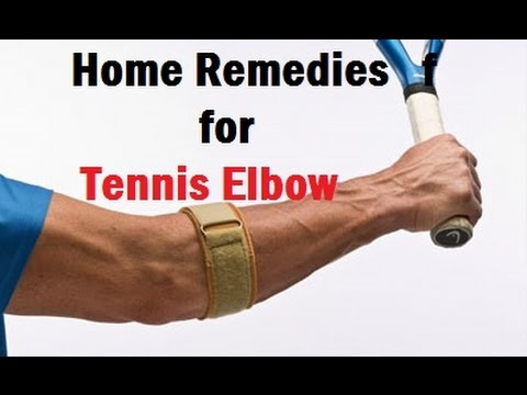 Home Remedies for Tennis Elbow   Elbow Pain Treatment ...