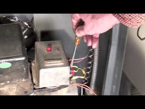 Troubleshoot the oil furnace part 3.  Fire comes on but shuts down.