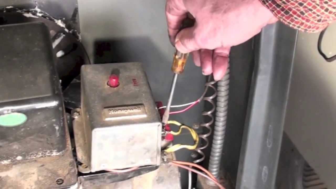 Troubleshoot The Oil Furnace Part 3 Fire Comes On But Shuts Down Old Engine Wiring Diagram Youtube