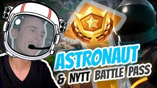 ASTRONAUT & NEW BATTLE PASS! | Norsk Fortnite