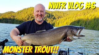 Monster Trout Catch n Cook | VLOG0006