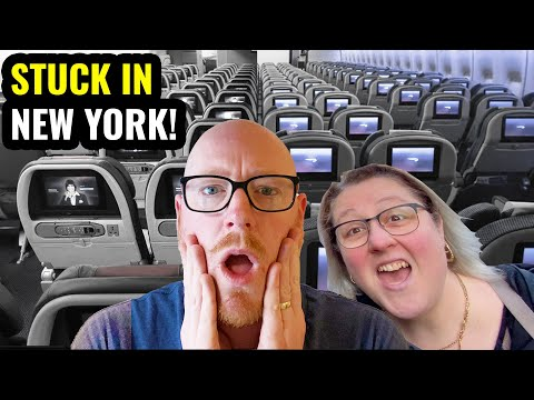 STUCK IN NEW YORK! British Airways Vs American Airlines Economy Class!
