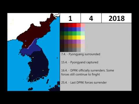 [Alternate Future] - The Second Korean War (2017-2018) - Every day