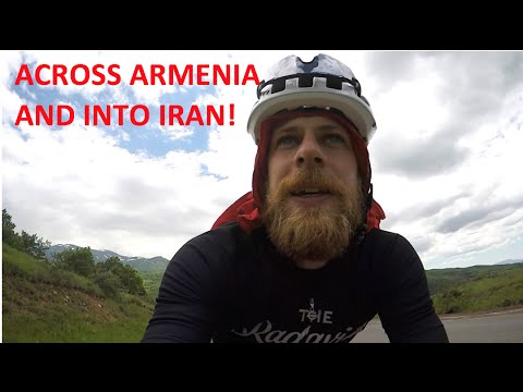 Across Armenia and Into Iran!