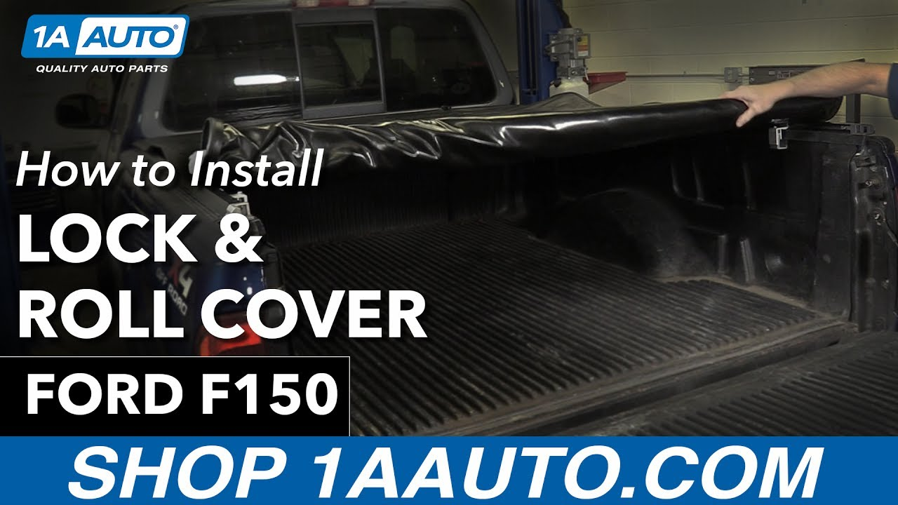 How To Install New Lock Roll Tonneau Cover 97 03 Ford F150 Youtube