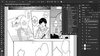 Typesetting a manga page for Scanlation