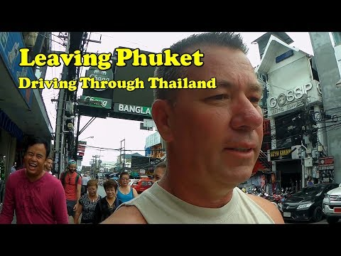 Leaving Phuket Thailand.