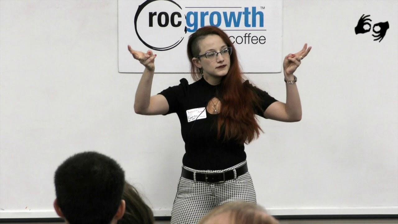 RocGrowth Coffee 2019-12-06 *Antonietta Alfano * Come Fly With Me Healing