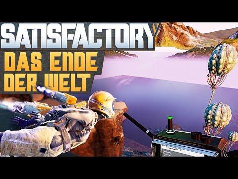 SATISFACTORY ENDE DER WELT Satisfactory Deutsch German Gameplay #85