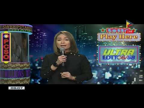 PCSO Lotto Draw, November 12, 2017