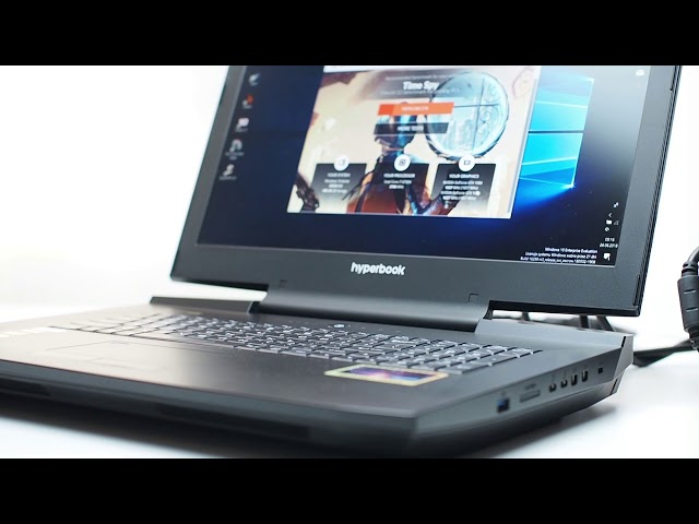 1080 SLI in Hyperbook laptop - mobile monster!