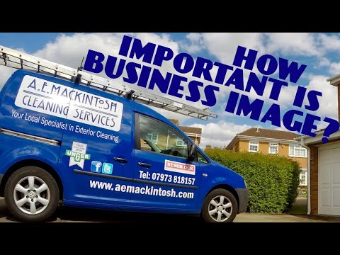 How Important Is Business Image For Window Cleaners?
