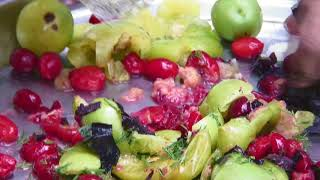 Азербайджанский салат доймач
