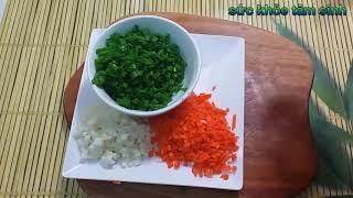 Làm món Bánh Mỳ Chiên Cay cay Giòn Ngon