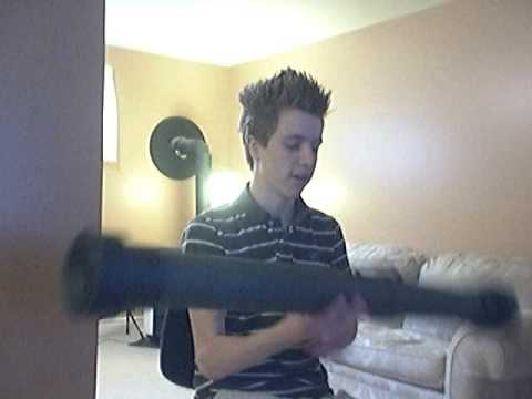 Homemade Paintball/Airsoft AT4 Rocket Launcher (MW2)