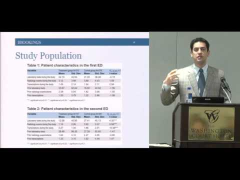 WHITE 2015 Session 4: Information and Health Services Efficiency (HD)