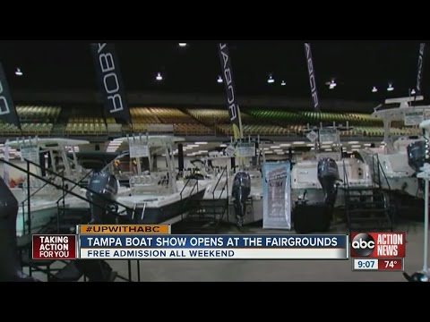 Annual Tampa Bay Boat Show Draws Boating Enthusiasts
