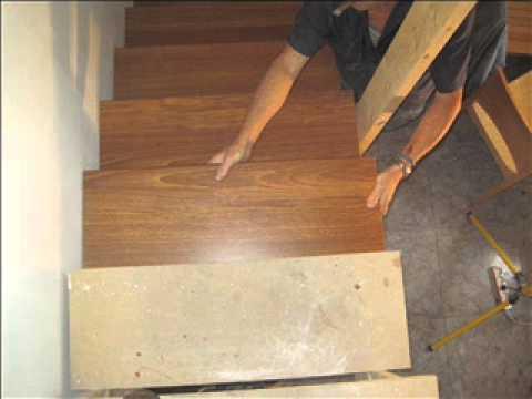 Revestimientos para escaleras de parquet y laminados youtube - Revestimiento para escaleras ...