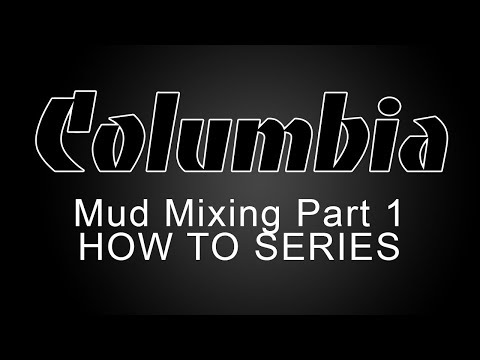 Columbia Drywall Mud Mixing - Automatic and Semi Automatic Taper, and Compound Tube - Part 1 of 3