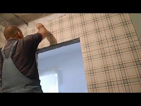 Дверь,облицовка плиткой ч.3