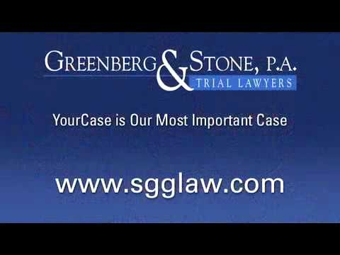 "Miami Personal Injury Lawyer, Stewart Greenberg- ""Our Miami, Florida Personal Injury Attorneys will promptly investigate your claims. Our in-house private investigator will be on the scene of the accident as..."
