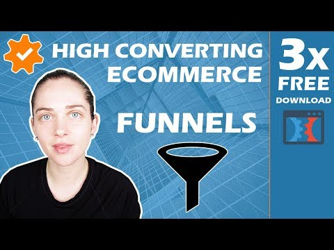 FREE Download - Three High Converting eCommerce Sales Funnels for Your Dropshipping Business thumbnail
