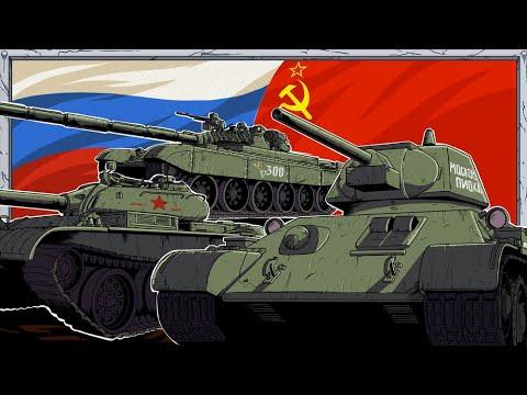 Evolution of Russian Tanks   Animated History