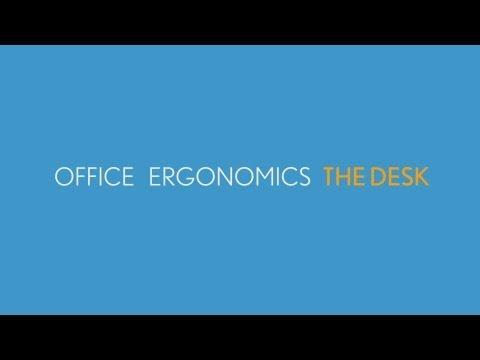 WorkCare University: Office Ergonomics on the Desk