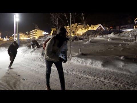 Vidéo : avec les migrants, à l'épreuve des Alpes