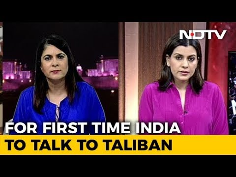 In A First, India To Be In Talks With Taliban At