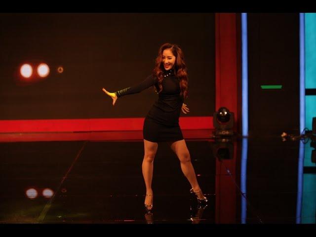 Nữ hoàng dance sport Khánh Thi và vũ điệu bốc lửa đêm khai mạc gameshow