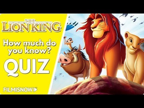 THE LION KING QUIZ | 👑 How Much Do You Know About The Movie?