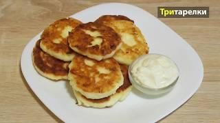 ☕️🍩🍩Очень вкусные #сырники из творога #рецепт