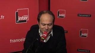 Mathieu Larnaudie, écrivain, répond aux questions de Léa Salamé