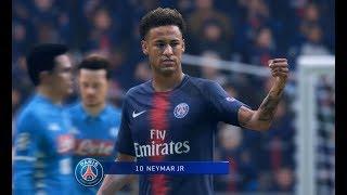 [HD] Neymar - SSC Naples // Ligue des Champions 24/10/2018 [FIFA19]
