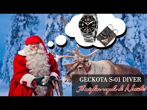 Il mio consiglio per Natale 2018: Geckota S-01 Diver 300mt ETA. Vi spiego perché!!!