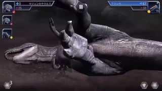 マジュンガサウルスVSアランカ ジュラシックワールドのアプリ