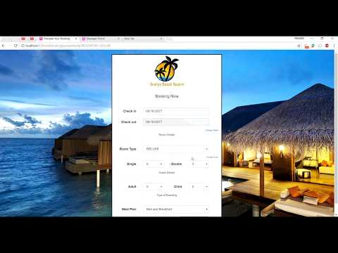 Online Hotel Room Reservation System In PHP And MySQL