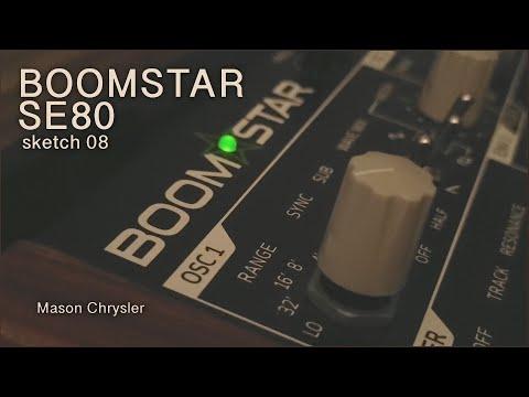 BOOMSTAR SE80 Sketch 08