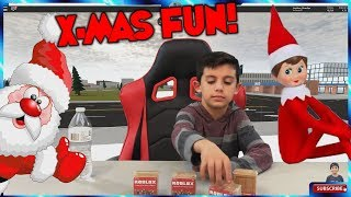Roblox Game Blind Box Toy Surprise Opening and Elf on the Shelf kids video / Family Friendly