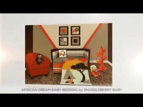 Snuggleberry Baby African Dream Baby Bedding Sets - YouTube