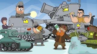 ТОП 7 (2017) - Мультики про танки