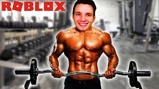 HOW MUCH MUSCLES CAN YOU BUILD ?? (Roblox)