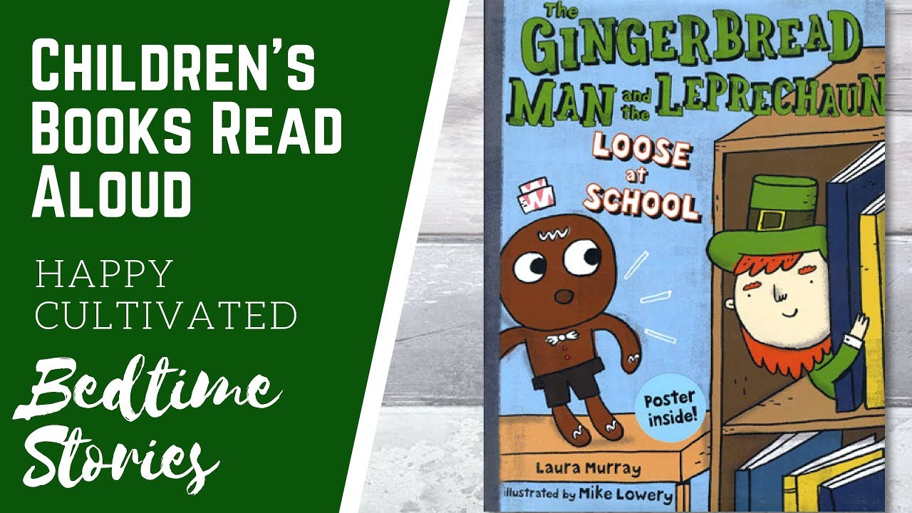 Gingerbread Man and Leprechaun Book Read Aloud | St ...