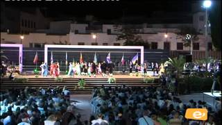 Pasacalle XIX Festival Internacional de Folklore. Ingenio 31.07.2014
