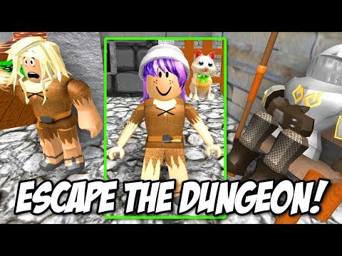ESCAPE THE DUNGEON OBBY IN ROBLOX | RADIOJH GAMES