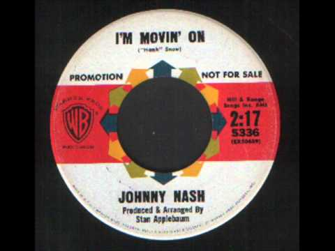 Johnny Nash - I'm Moving on - Mod R&B soul dancer.wmv