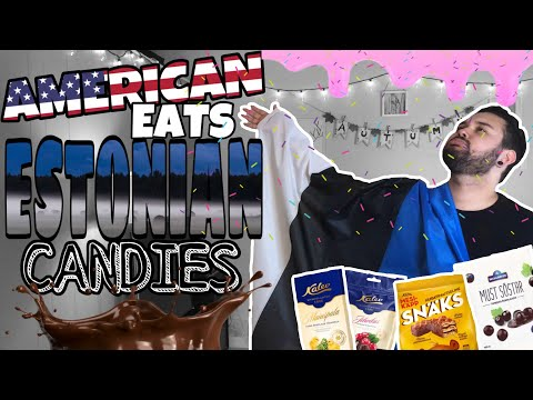 American EATS  Estonian Candies ft URXUNICORN