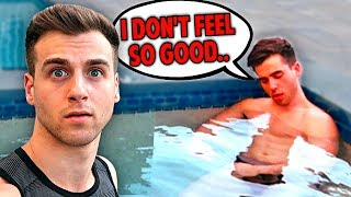 DON&#39T Do The 24 HOUR HOT TUB CHALLENGE!!